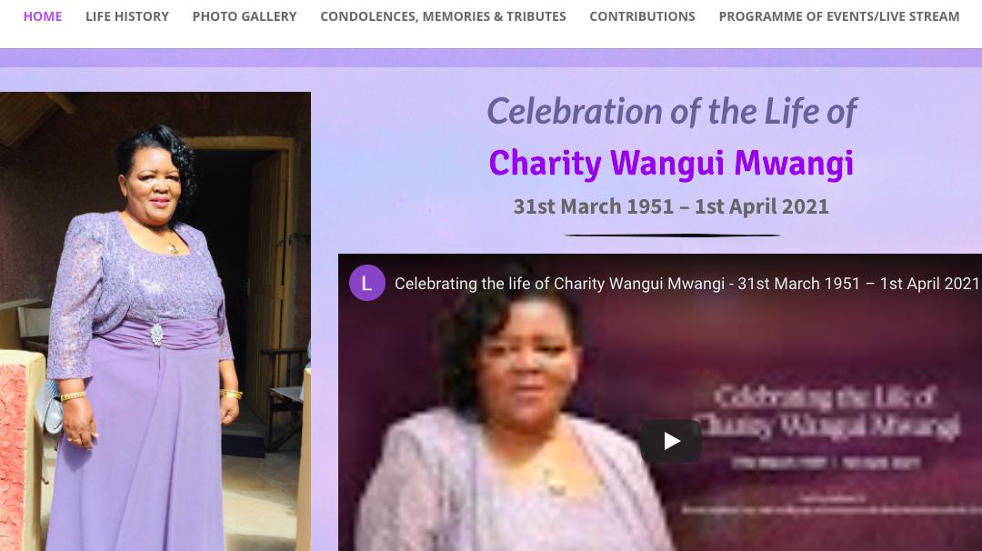 Charity Wangui Mwangi